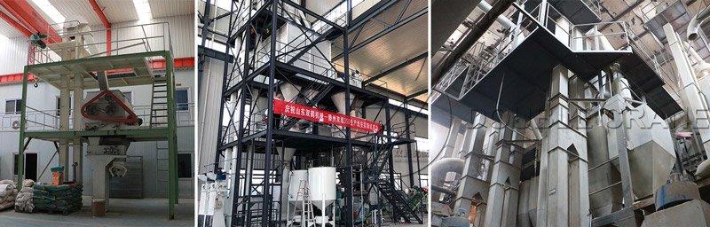 Bucket elevator feed plant project