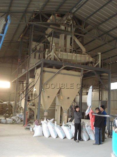 Proyecto de planta de piensos para cerdos Guizhou 3TPH