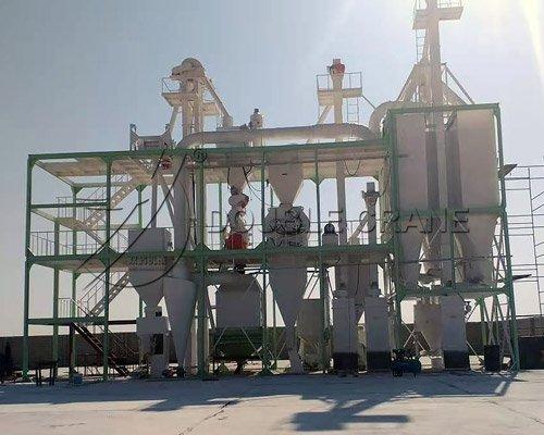 Oman 10TPH Usine d'aliments pour la volaille et le bétail