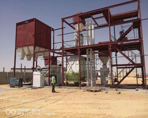 Оман проект линии по производству кормовых гранул мощностью 5 тонн