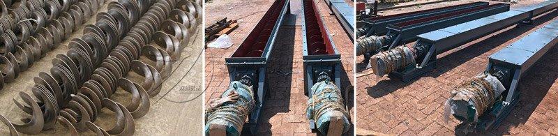 screw conveyor structure