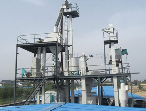 6TPH animal feed processing plant installed in Greece