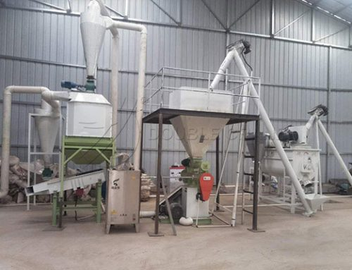 500KG small scale animal feed plant in Mongolia