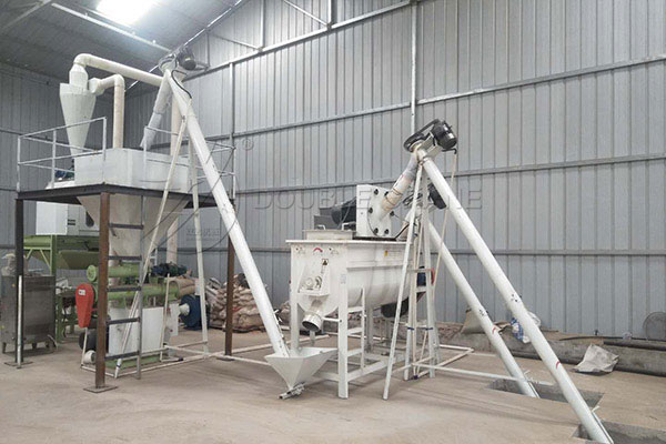 small scale animal feed plant