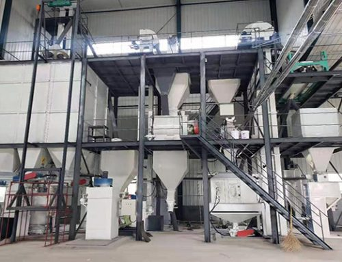 4 tons soya cat litter production line project completed in China