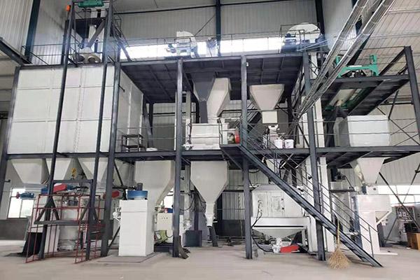 4 ton cat litter production line china