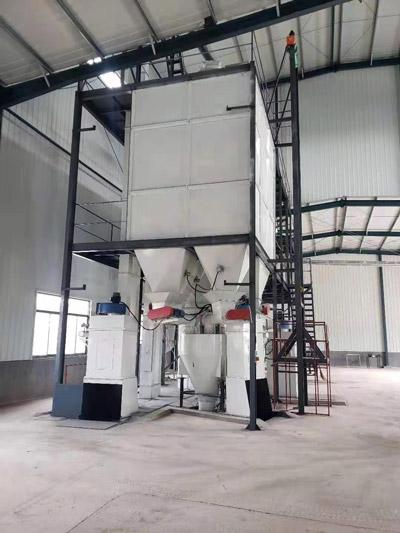 4 ton tofu cat litter production line