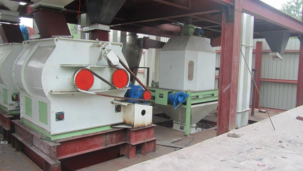combined feed plant