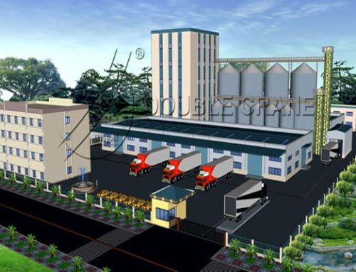 Turnkey large scale feed factory project design in China