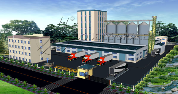 turnkey feed factory project design