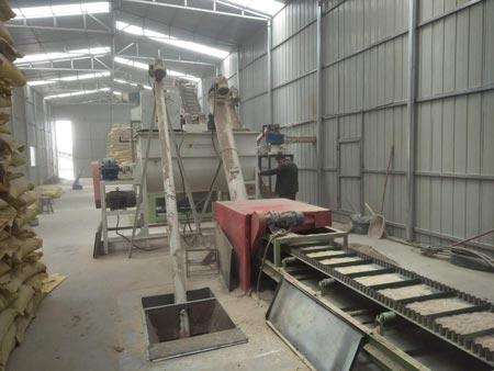 rice husk pellet production line