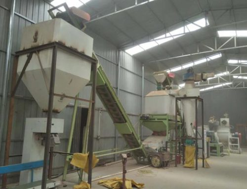 600kg straw pellet production line