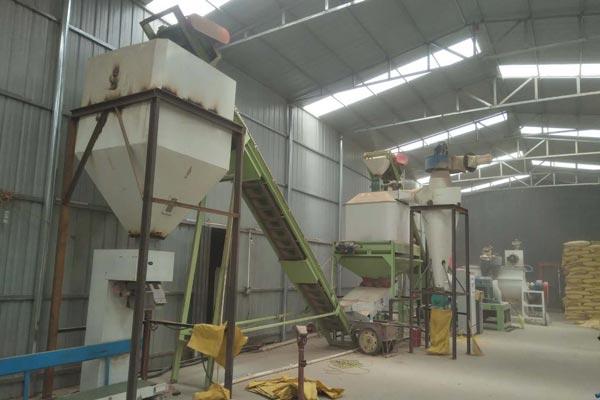 straw pellet production line