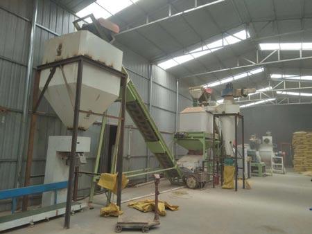 straw production line
